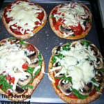 Gluten Free Flatbread and Pita Pizzas