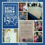 Battle Born Birthday Cake Celebration ~ Nevada 150th Birthday