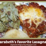 Daughter's Favorite Lasagna ~ Gluten Free Adjustment Included