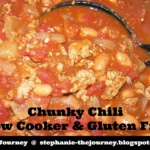 Chunky Chili ~ Slow Cooker and Gluten Free