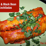 Easy Beef and Black Bean Enchiladas ~ Easily Gluten Free