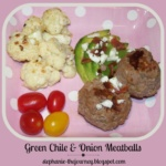 Green Chile and Onion Meatballs ~ Gluten Free