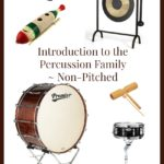 Introduction to the Percussion Family ~ Non-Pitched