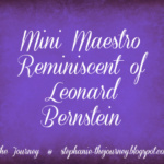 Mini Maestro Reminiscent of Leonard Bernstein