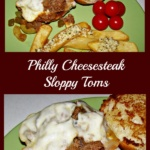 Philly Cheesesteak Sloppy Toms ~ Easily Gluten Free