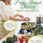 Prep-Ahead Meals From Scratch Cookbook Review ~ and ~ Skillet Scalloped Potatoes with Ham and Peas Recipe