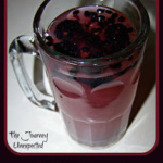 Quick Blackberry Lemonade ~ Only 2 Ingredients
