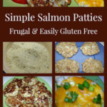 Simple Salmon Patties with Dressed-Up Mashed Potatoes and Brazi Bites ~ Frugal and Easily Gluten Free