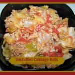 Unstuffed Cabbage Rolls ~ Quick and Gluten Free