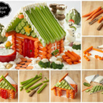 How to Create a Veggie Lodge for Christmas